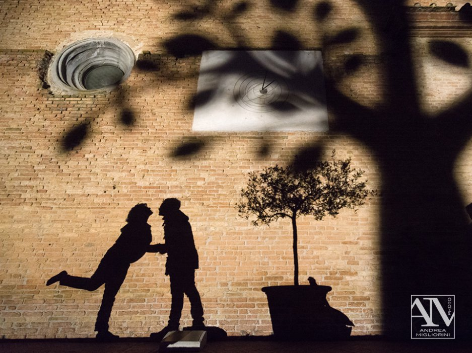 San Gimignano Lumiere, reportage ombre d'amore